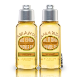 L'occitane Almond Shower Oil 75ml- ผลิตภัณฑ์อาบน้ำสูตรอัลมอลล์ยอดนิยม