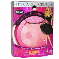 Physicians Formula Powder Palette Multi-Colored Custom Blush -Blondes