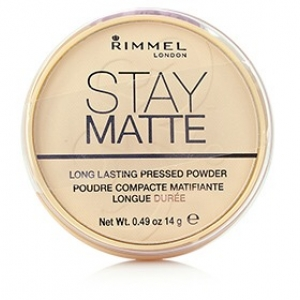Rimmel Stay Matte Pressed Powder, Transparent 0.49 oz (14 g)
