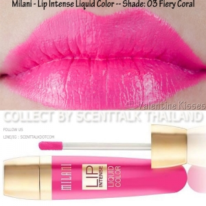 Milani Lip Intense Liquid Colors No. 03 Fiery Coral