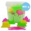 PS133 ทรายนิ่ม Soft Sand Play Sand ทราย สีเขียว หนัก 800 กรัม thumbnail 1