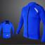 เสื้อปั่นจักรยาน แขนยาว AUTULA สีน้ำเงิน thumbnail 1
