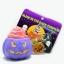 I138 สกุชชี่ Limited edition GLOW in the dark Halloween Pumpkin Squishy ฟักทอง ฮาโลวีน สีม่วง ขนาด 8 cm เรืองแสง ลิขสิทธิ์แท้ thumbnail 1