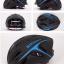 หมวกกันน๊อค จักรยาน BikeBoy สีดำฟ้า พร้อมกระเป๋า BikeBoy thumbnail 2