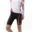 ชุดปั่นจักรยานผู้หญิง สีชมพู แขนสั้น thumbnail 2