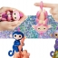 DA009 (ของแท้) wowwee Glitter fingerling ตุ๊กตาลิง มีชีิวิต -สีม่วง thumbnail 2