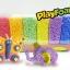 Z036 Play Foam โฟมปั้นได้ 6 สี ชุดใหญ่ thumbnail 1