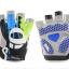 ถุงมือปั่นจักรยาน Pearl Izumi Gel สีน้ำเงินเชียว thumbnail 1