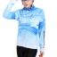 ชุดปั่นจักรยานผู้หญิง สีฟ้า ขนาด L ชุดยาว thumbnail 2