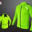 เสื้อปั่นจักรยาน แขนยาว AUTULA สีเขียว thumbnail 1