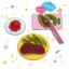 M155 ขนมญี่ปุ่น DIY ของเล่นกินได้ Playing House Kitchen Gummy thumbnail 3