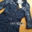 Lady Kim Sexy Elegant Lace and Denim Shirt Dress L199-79C04 thumbnail 7