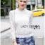 Lady Becca Smart Elegant High-Neck White Lace Blouse L254-69C02 thumbnail 10