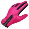 ถุงมือปั่นจักรยาน สีชมพู