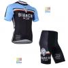ชุดปั่นจักรยาน เสื้อปั่นจักรยาน และ กางเกงปั่นจักรยาน Bianchi ขนาด S