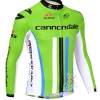 เสื้อปั่นจักรยานแขนยาว Cannondale Green ขนาด L พร้อมส่งทันที ฟรี EMS