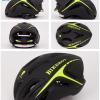 หมวกกันน๊อค จักรยาน BikeBoy สีดำเขียว พร้อมกระเป๋า BikeBoy