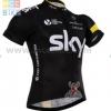 เสื้อปั่นจักรยาน แขนสั้น Sky 2016