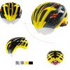 หมวกกันน๊อค จักรยาน Cigna มีแว่นในตัว เปลี่ยนเลนส์ได้ สีเหลืองดำ