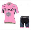 ชุดปั่นจักรยานผู้หญิง Tinkoff เสื้อปั่นจักรยาน พร้อมกางเกงปั่นจักรยาน