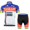 ชุดปั่นจักรยาน Tinkoff 2015 เสื้อปั่นจักรยาน และ กางเกงปั่นจักรยาน