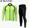 ชุดปั่นจักรยาน แขนยาว Realtoo เสื้อปั่นจักรยาน และ กางเกงปั่นจักรยาน