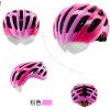 หมวกกันน๊อค จักรยาน Cigna มีแว่นในตัว เปลี่ยนเลนส์ได้ สีชมพู