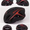 หมวกกันน๊อค จักรยาน BikeBoy สีดำแดง พร้อมกระเป๋า BikeBoy