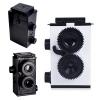 TY085 กล้องทอย สีขาว Toy Camera โลโม่ DIY ไม่ต้องใช้ถ่าน ใช้ฟิล์ม 35mm (ฟิลม์ซื้อแยกต่างหาก)