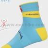 ถุงเท้าจักรยาน ถุงเท้าปั่นจักรยาน โปรทีม Astana