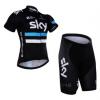 ชุดปั่นจักรยาน Sky 2016 เสื้อปั่นจักรยาน และ กางเกงปั่นจักรยาน