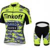 ชุดปั่นจักรยาน Tinkoff 2015 ลายเหลืองพลาง เสื้อปั่นจักรยาน และ กางเกงปั่นจักรยาน