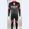 ชุดปั่นจักรยาน แขนยาว Bianchi Milano เสื้อปั่นจักรยาน และ กางเกงปั่นจักรยาน