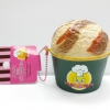 C845 สกุชชี่ lucio SAMMY THE PATISSIER ICE CRAM CUP CHOCOLATE ลิขสิทธิ์แท้ ( SOFT) ขนาด 9 cm