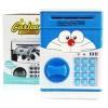 KA015 กระปุกออมสิน ตู้เซฟ ดูดเงินอัตโนมัติ ลาย Doraemon