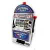 KA031 กระปุกออมสิน Slot Machine รุ่น Casino Slot Bank Machine สีเงิน