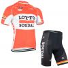 ชุดปั่นจักรยาน Lotto Soudal 2015 เสื้อปั่นจักรยาน และ กางเกงปั่นจักรยาน