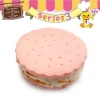 C822 Sammy the Patissier Cracker Squishy Mascot Ball Chain ( SOFT) 5 cm ลิขสิทธิ์แท้