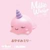 I166 สกุชชี่ millie mini สีชมพู (super soft) ขนาด 8 cm ลิขสิทธิ์แท้ ญี่ปุ่น