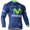 เสื้อปั่นจักรยาน แขนยาว Movistar พร้อมส่ง