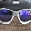แว่นตาปั่นจักรยาน Oakley Jawbone เทา-ขาว