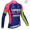 เสื้อปั่นจักรยาน แขนยาว Lampre Merida พร้อมส่ง
