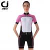 ชุดปั่นจักรยานผู้หญิง cheji 003 เสื้อปั่นจักรยาน พร้อมกางเกงปั่นจักรยาน