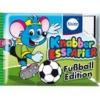 KN017 Knabber Esspapier Fußball Edition ขนมกระดาษ มี อย ลาย ฟุตบอล คละแบบ 1 ห่อ รสผลไม้รวม (ลาย D)