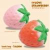 I060 I-bloom SUPER BIG STRAWBERRY PINK 1 ชิ้น สกุชชี่ ไอบูม จัมโบ้ สตอเบอร์รี่ สีชมพู ขนาด 14 CM