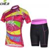 ชุดปั่นจักรยานผู้หญิง เสื้อปั่นจักรยาน พร้อมกางเกงปั่นจักรยาน