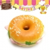 C825 Sammy the Patissier Squishy Burger Ball Chain ( SOFT) 10 cm ลิขสิทธิ์แท้