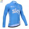 เสื้อปั่นจักรยาน SKY ขนาด M พร้อมส่ง ฟรี EMS