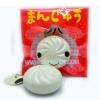 I129 Mini Manju Vanilla bun สกุชชี่ ซาลาเปา มันจู กลิ่นวนิลา ขนาด 5cm.