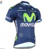 เสื้อปั่นจักรยาน แขนสั้น Movistar